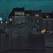 Wyck By Night Art Print