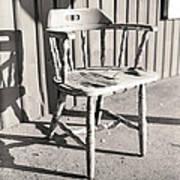 Wylie's Chair Art Print