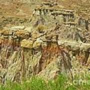 Wyoming Badlands Landscape Three Art Print