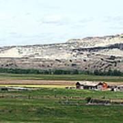 Wyoming Ranch Art Print