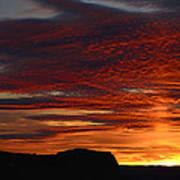 Wyoming Sunset #1 Art Print