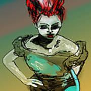 Wyrd Girl Art Print