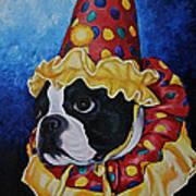 Wyze Clown Art Print