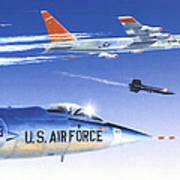 X-15 Launch Art Print