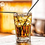 X Marks The Drink Art Print