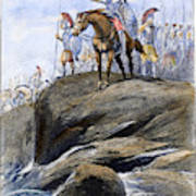 Xenophon Anabasis Art Print