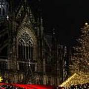 Xmas In Cologne Art Print