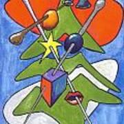 Xmas Tree I Art Print