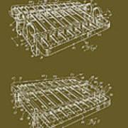 Xylophone Patent 1949 Art Print