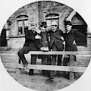 Yale Students, C1890 Art Print