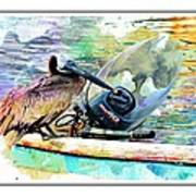 Yamaha Pelican Art Print