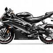 Yamaha R6 Supersport Motorcycle Art Print