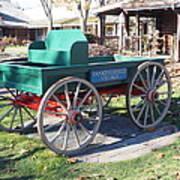 Yankee Candle Cart Art Print