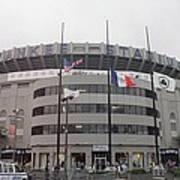 Yankee Stadium 1976 - 2008 Art Print