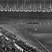 Yankee Stadium Game Art Print by Underwood Archives
