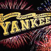 Yankees Pennant 1950 Art Print