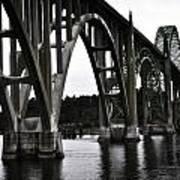 Yaquina Bay Bridge - Series J Art Print