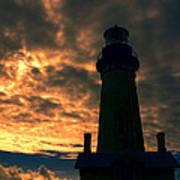 Yaquina Head Lighthouse 5 Art Print
