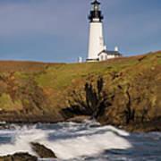 Yaquina Head Lighthouse Art Print