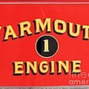 Yarmouth Engine 1 Art Print