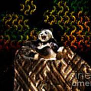 Yawning Panda  Art Print