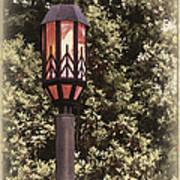 Ye Olde Street Lamp Art Print