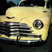 Yellow 47 Chevrolet Art Print