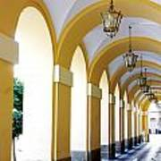 Yellow Arches Art Print