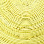 Yellow Arcs Art Print
