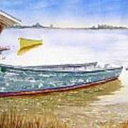 Yellow Boat II Art Print