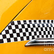 Yellow Cab - 4 Art Print