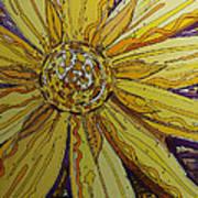 Yellow Chakra Art Print