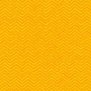 Yellow Chevron Waves Art Print
