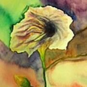 Yellow Flower Art Print by Anais DelaVega