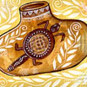 Yellow Gourd Art Print