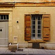 Yellow House No 32 Arles France Dsc01779  Art Print