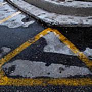 Yellow Lines 2  Art Print