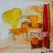 Yellow Love 3 Art Print