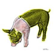 Yellow Piglet - 0878 Fs Art Print