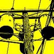 Yellow Power Art Print