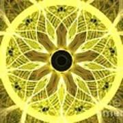 Yellow Rays Art Print