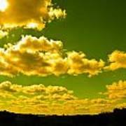 Yellow Skies Art Print