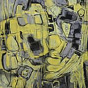 Yellow Trip Art Print
