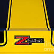 Yellow Z28 Art Print