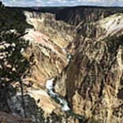 Yellowstone Canyon Art Print