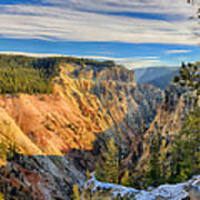 Yellowstone Grand Canyon East View Art Print