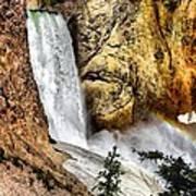 Yellowstone Lower Falls Rainbow Art Print
