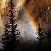Yellowstone Rainbow Art Print