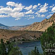 Yellowstone River Overlook Art Print