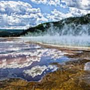 Yellowstone - Springs Art Print